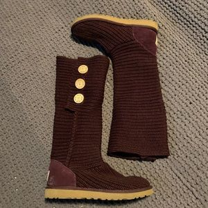 Ugg knit boot